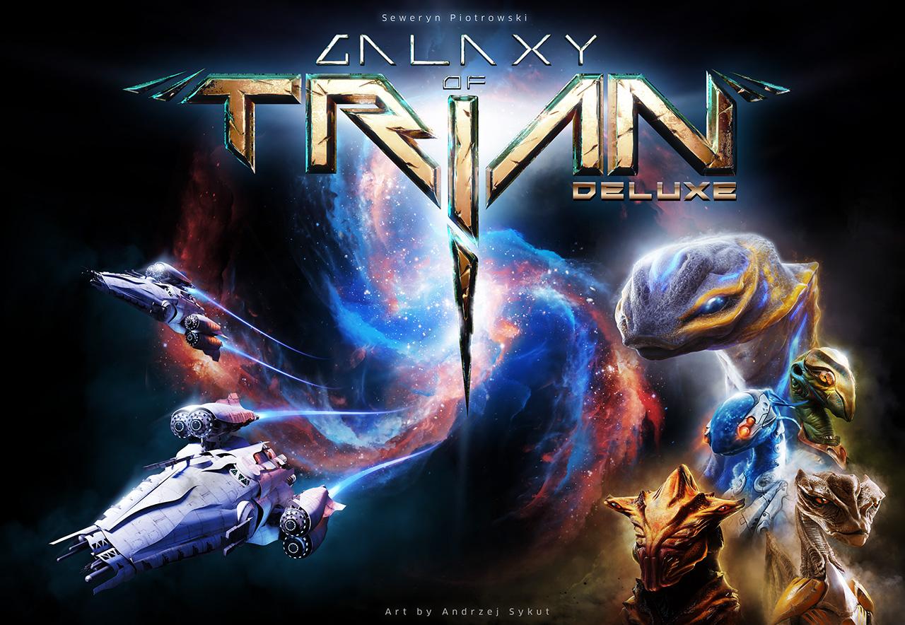 Okładka gry Galaxy of TRIAN