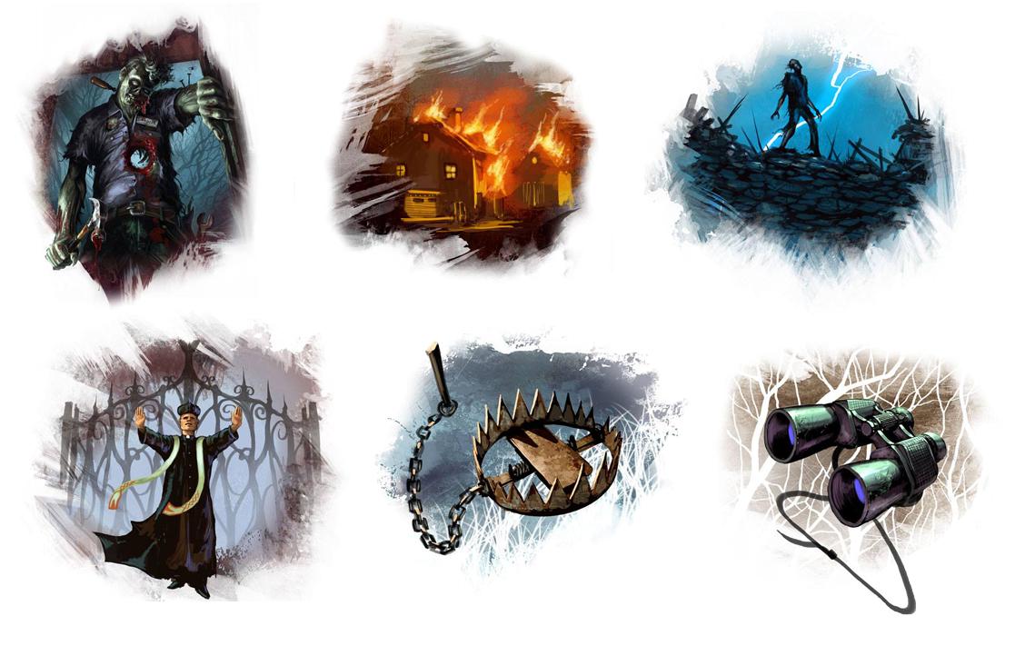 Ilustracje z gry
